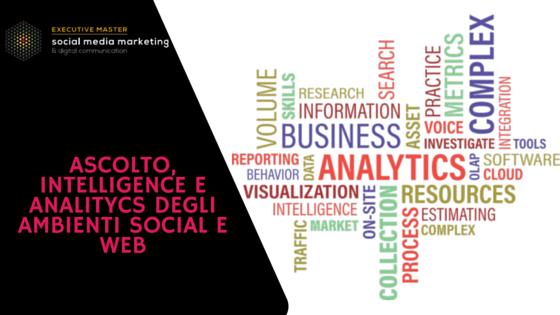 Ascolto, intelligence e analytics degli ambienti digitali