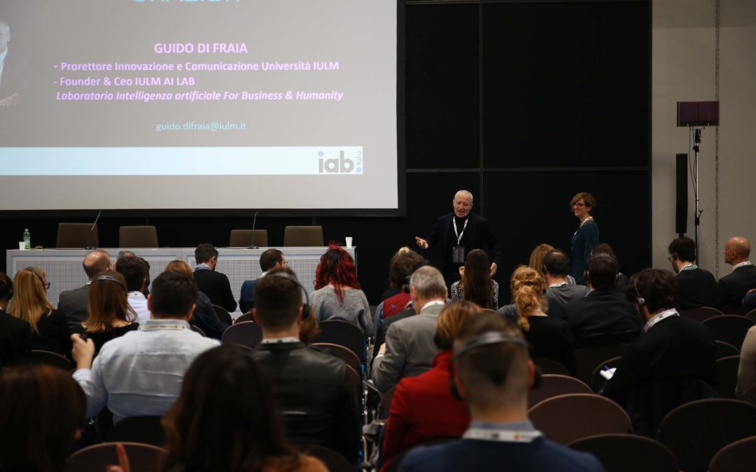 Rivivi il workshop di Di Fraia sull'Intelligenza Artificiale a IAB Forum 2018